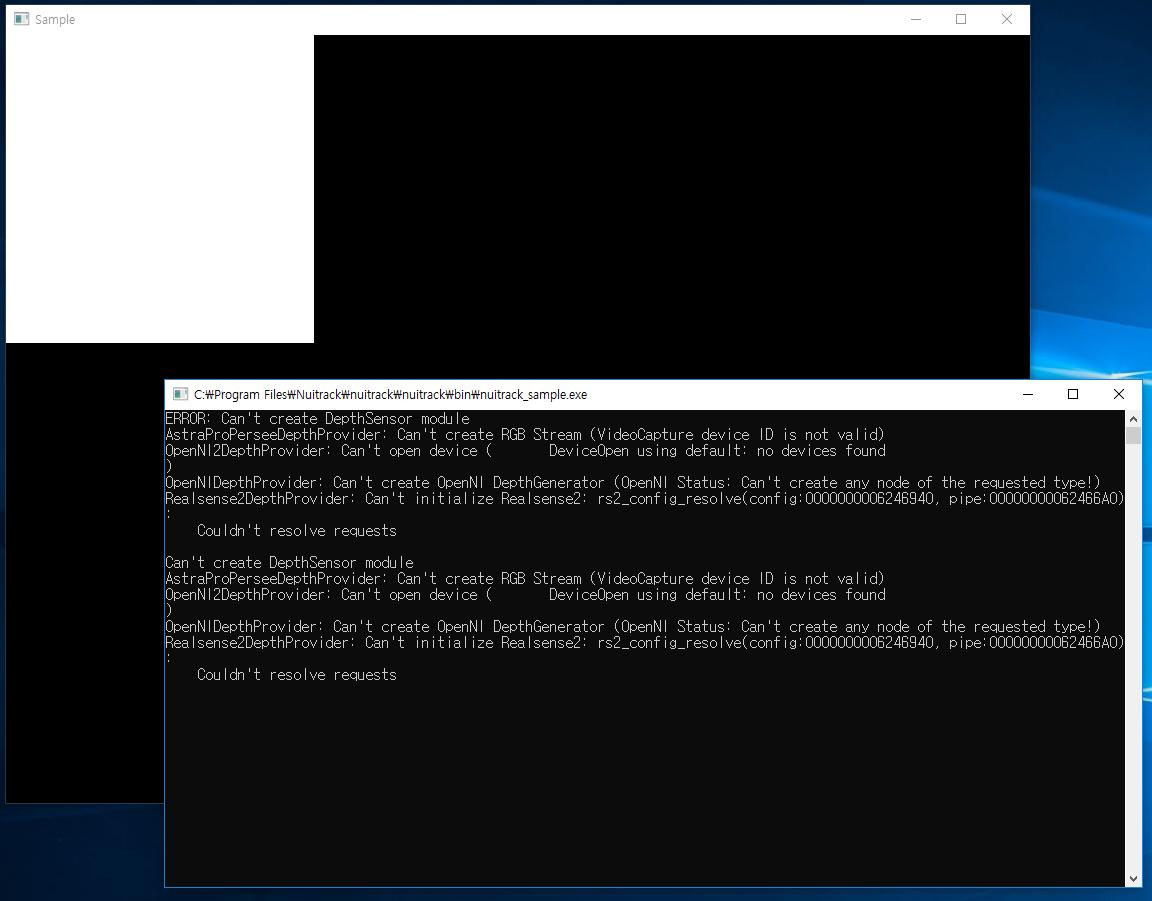 SOLVED] Nuitrack Installation on Windows - Nuitrack SDK